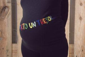 samarreta embarassada porto un tresor