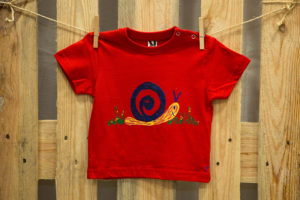 Samarreta cargon vermell màniga curta